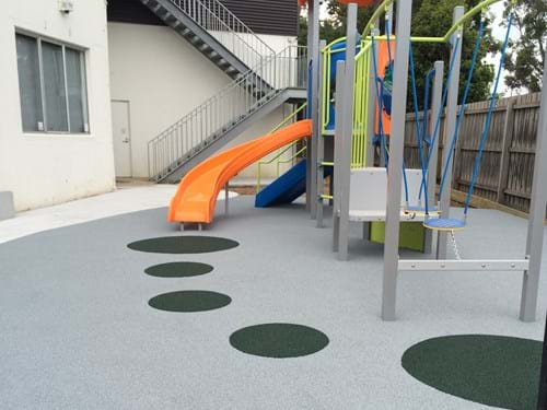 Clayton Chinese Christian Church| rubber surfacing| playground surfacing | playground safety|