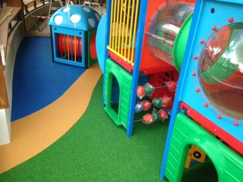restaurant playground surfacing| safety surfaces| melbourne| wet pour rubber |