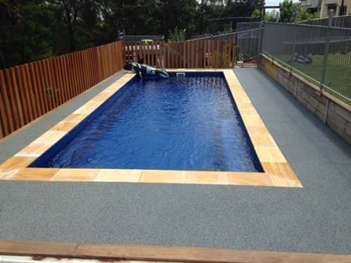 pool surfacing | non slip | rubber pool