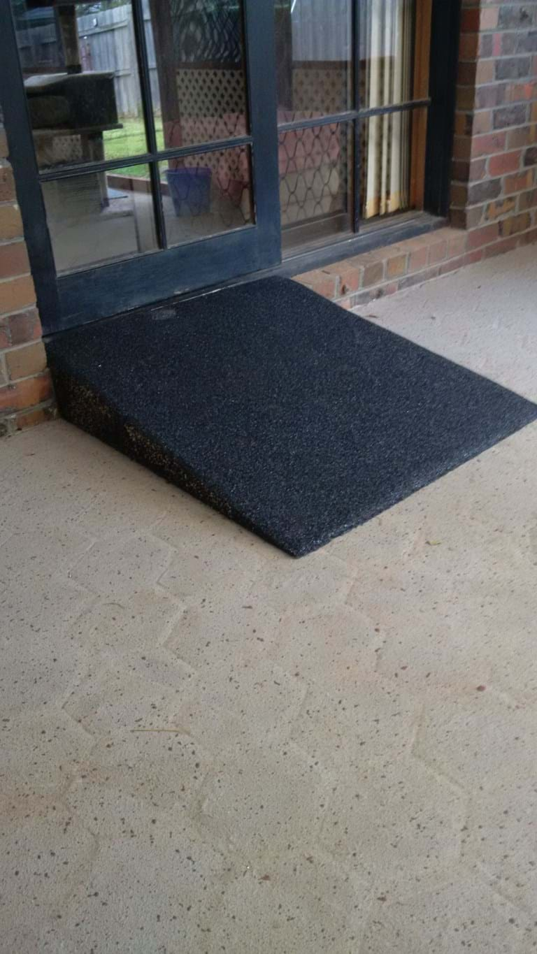 Footpath Mats And Wheelchair Ramps
